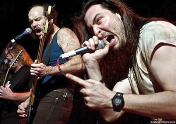 [Andrew W.K. Band Picture]