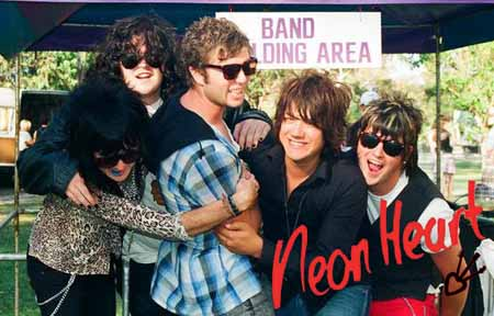 Neon Hearts Pictures Neon Heart Band Picture