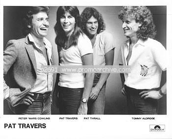 [Pat Travers Band Picture]