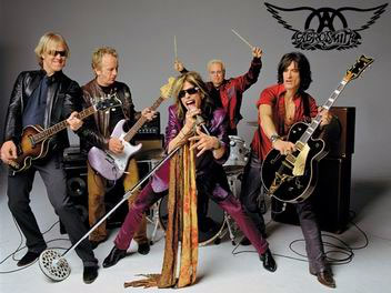 [Aerosmith Band Picture]