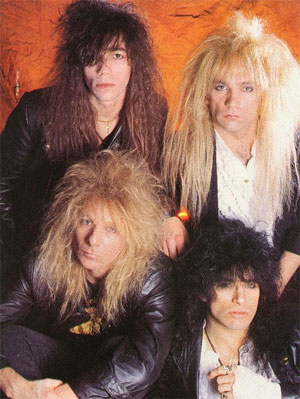 [Britny Fox Band Picture]