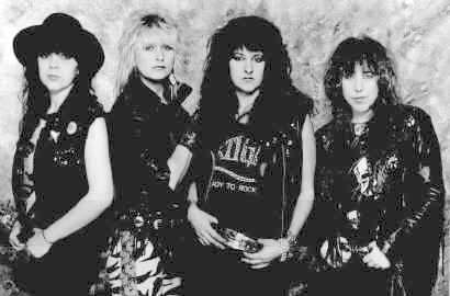 [Girlschool Band Picture]