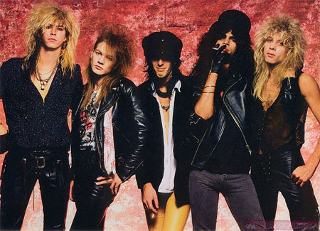 [Guns N' Roses Band Picture]