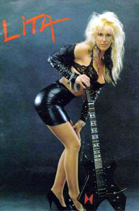 [Lita Ford Band Picture]