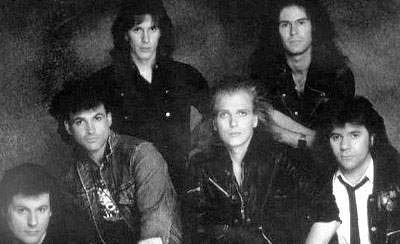 [The McAuley Schenker Group Band Picture]