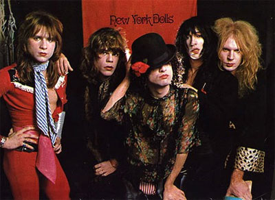 [New York Dolls Band Picture]
