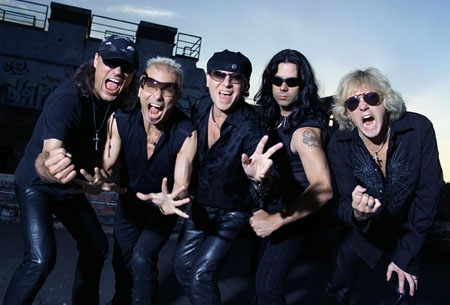 [Scorpions Band Picture]