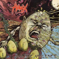 [Hirax Raging Violence Album Cover]