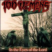 [100 Demons In the Eyes of the Lord Album Cover]