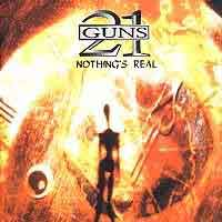 21 Guns Nothing's Real Album Cover