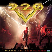 [220 Volt Made In Jamtland Album Cover]