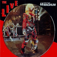 44 Magnum The Live  Album Cover