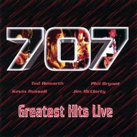 [707 Greatest Hits Live Album Cover]