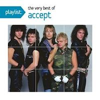 [Accept Playlist: The Very Best Of Album Cover]