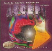 [Accept Six Great Hits Album Cover]