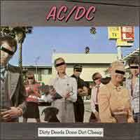[AC/DC Dirty Deeds Done Dirt Cheap Album Cover]