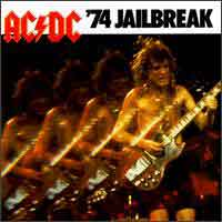 [AC/DC 74 Jailbreak Album Cover]