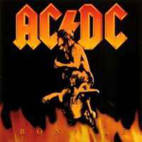 [AC/DC Bonfire Album Cover]