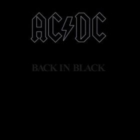 AC/DC Back In Black Album Cover