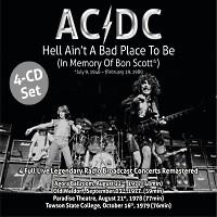 [AC/DC Hell Ain't A Bad Place To Be (In Memory Of Bon Scott) Album Cover]