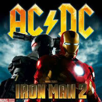 [AC/DC Iron Man 2 Album Cover]