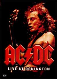 [AC/DC Live At Donnington (DVD) Album Cover]