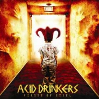 [Acid Drinkers Verses of Steel Album Cover]