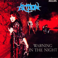 [Action Warning In The Night Album Cover]