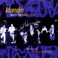 [Adrenalin Twenty-Five Years 1977-2002 Album Cover]