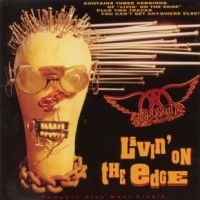 [Aerosmith Livin' on the Edge EP Album Cover]