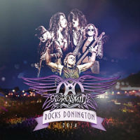 [Aerosmith Rocks Donington Album Cover]