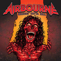 [Airbourne Breakin' Outta Hell Album Cover]