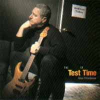 Alan Friedman The Test Of Time Album Cover