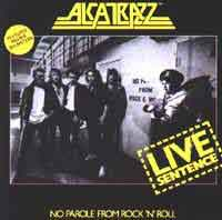 [Alcatrazz Live Sentence Album Cover]