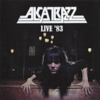 [Alcatrazz Live '83 Album Cover]