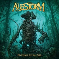 [Alestorm No Grave But The Sea Album Cover]