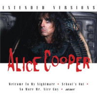 [Alice Cooper Extended Versions Album Cover]