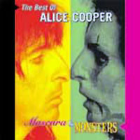 [Alice Cooper Mascara and Monsters - The Best of Alice Cooper Album Cover]
