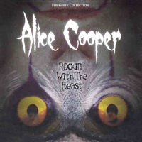 [Alice Cooper Rockin' With The Beast: The Greek Collection Album Cover]