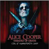 [Alice Cooper Theatre Of Death: Live At Hammersmith 2009 Album Cover]