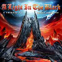 [Tributes A Light in the Black: A Tribute to Ronnie James Dio Album Cover]