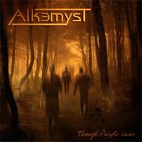 [Alkemyst Through Painful Lane Album Cover]
