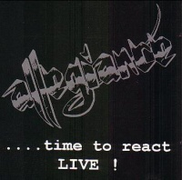 [Allegiance Time To React LIVE! Album Cover]