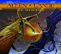 Allen - Lande The Showdown Album Cover