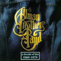 [The Allman Brothers Band A Decade of Hits 1969-1979 Album Cover]