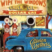 [The Allman Brothers Band Wipe the Windows, Check the Oil, Dollar Gas Album Cover]