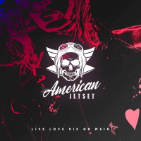 [American Jetset Live Love Die on Main Album Cover]