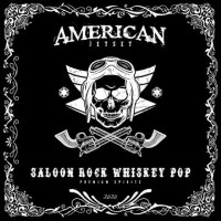 [American Jetset Saloon Rock Whiskey Pop Album Cover]