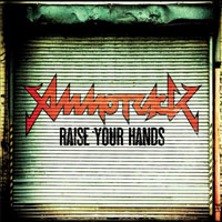 [Ammotrack Raise Your Hands Album Cover]
