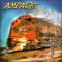 [Ampage Iron Horse Album Cover]